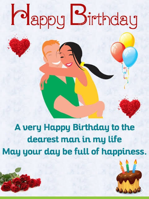happy birthday dear husband