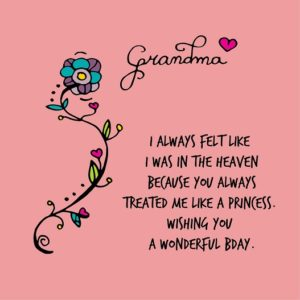 happy birthday fantastic grandmother