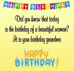happy birthday generous grandmother