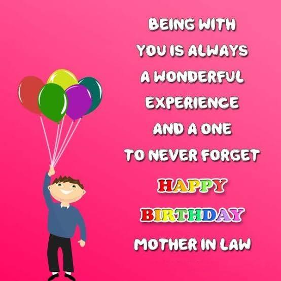happy birthday generous mother in law