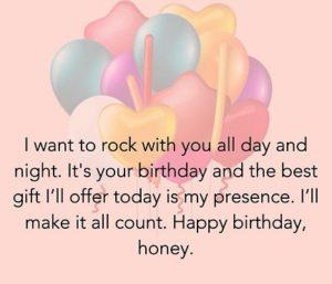 happy birthday honey