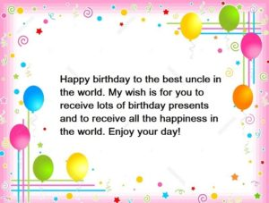 happy birthday interested uncle