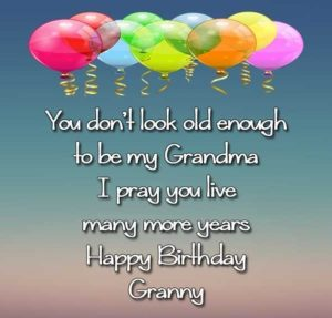 happy birthday lovely grandmother