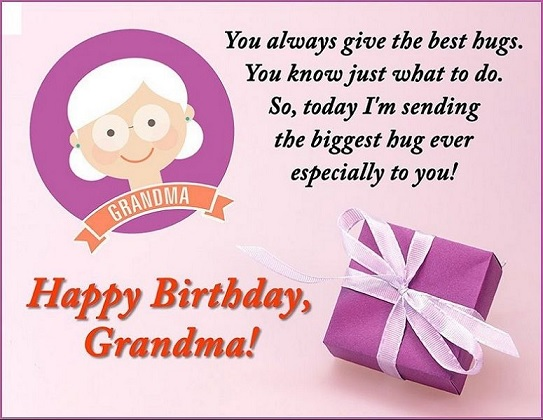 happy birthday sweet grandmother