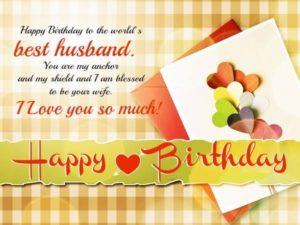 happy birthday to the best husband