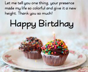 happy birthday beloved friend