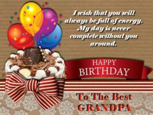 happy birthday beloved grandfather