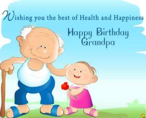 happy birthday dear grandfather