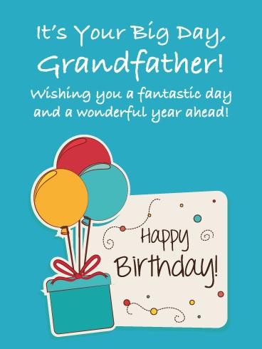 happy birthday generous grandfather