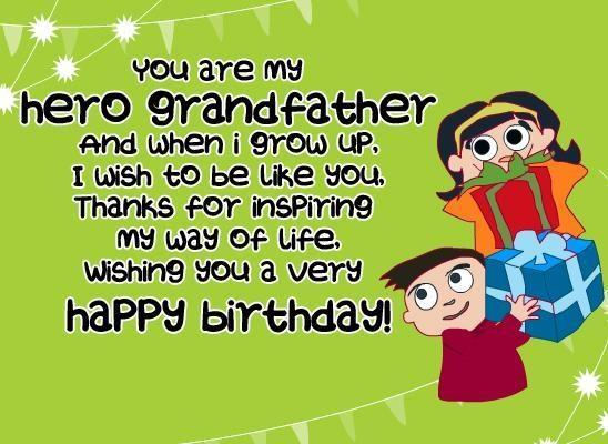 happy birthday inspiring grandfather