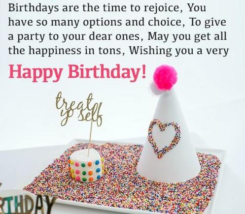 happy birthday lovely friend