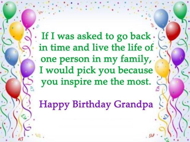 happy birthday pamper grandfather