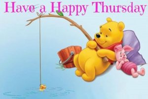 have a happy thursday