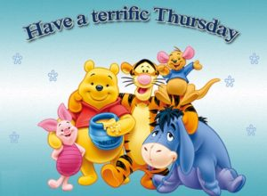 have a terrific thursday
