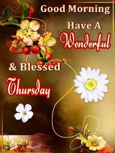 wish you a fantastic thursday