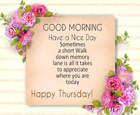wish you a good thursday