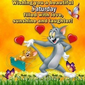 wish you a nice saturday