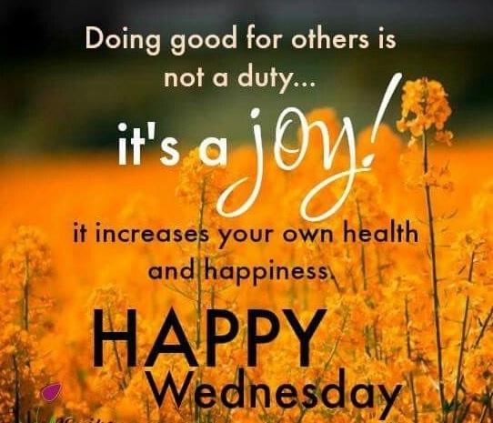 wish you an amazing wednesday