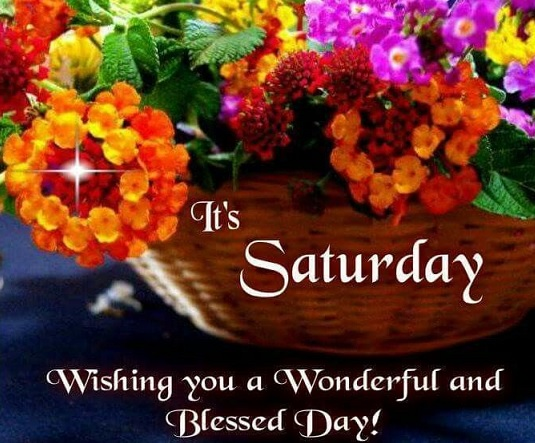 wishing you a terrific saturday