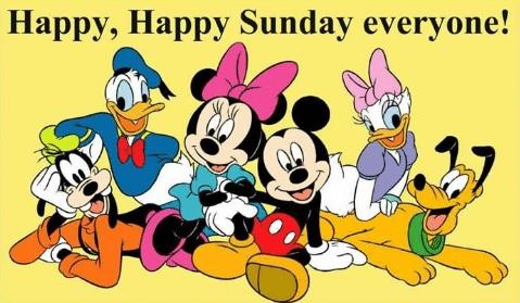 happy happy sunday