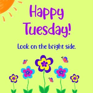 happy tuesday friends