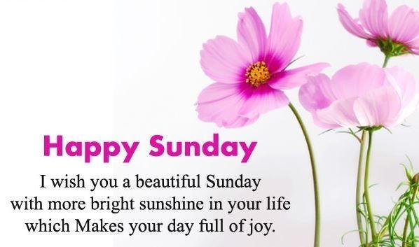 have a joyful sunday