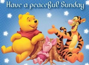 have a special sunday