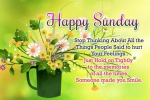 wish you a beautiful sunday