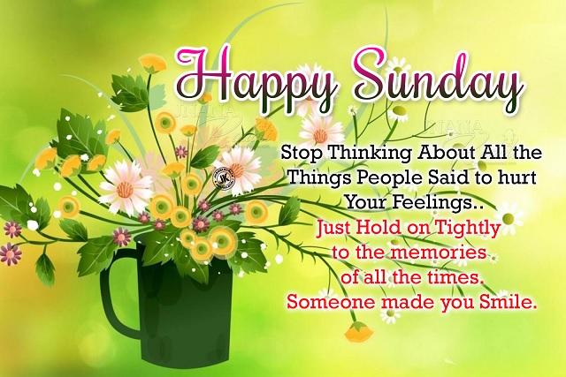 wish you a beautiful sunday