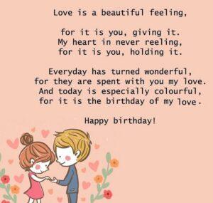 happy birthday dear girlfriend
