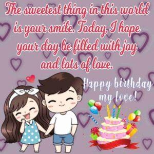 happy birthday my beloved girlfriend