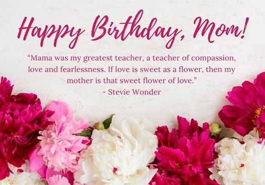 happy birthday intelligent mom